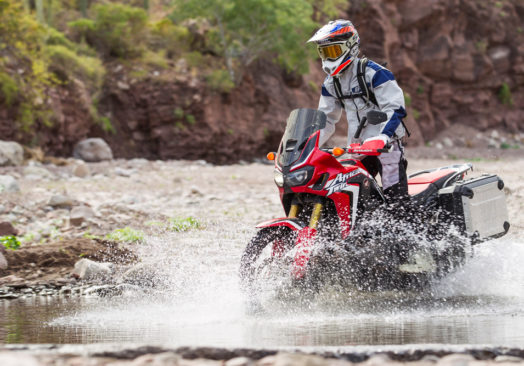 Africa Twin Race Tech Suspension